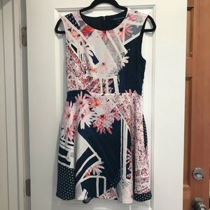 Like new! French Connection floral dress